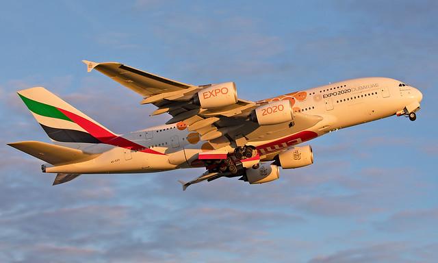 A6-EOV - Airbus A380-861 - LHR
