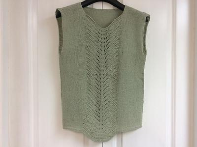 Ann (annvanwagner) knit this Linen Top by Samantha Stadter!