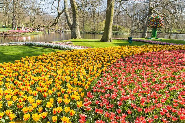 Armchair Traveling - Keukenhof Gardens, The Netherlands
