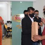 Deputado Roosevelt Vilela participa da inauguração das novas instalações da Rádio Bombeiros