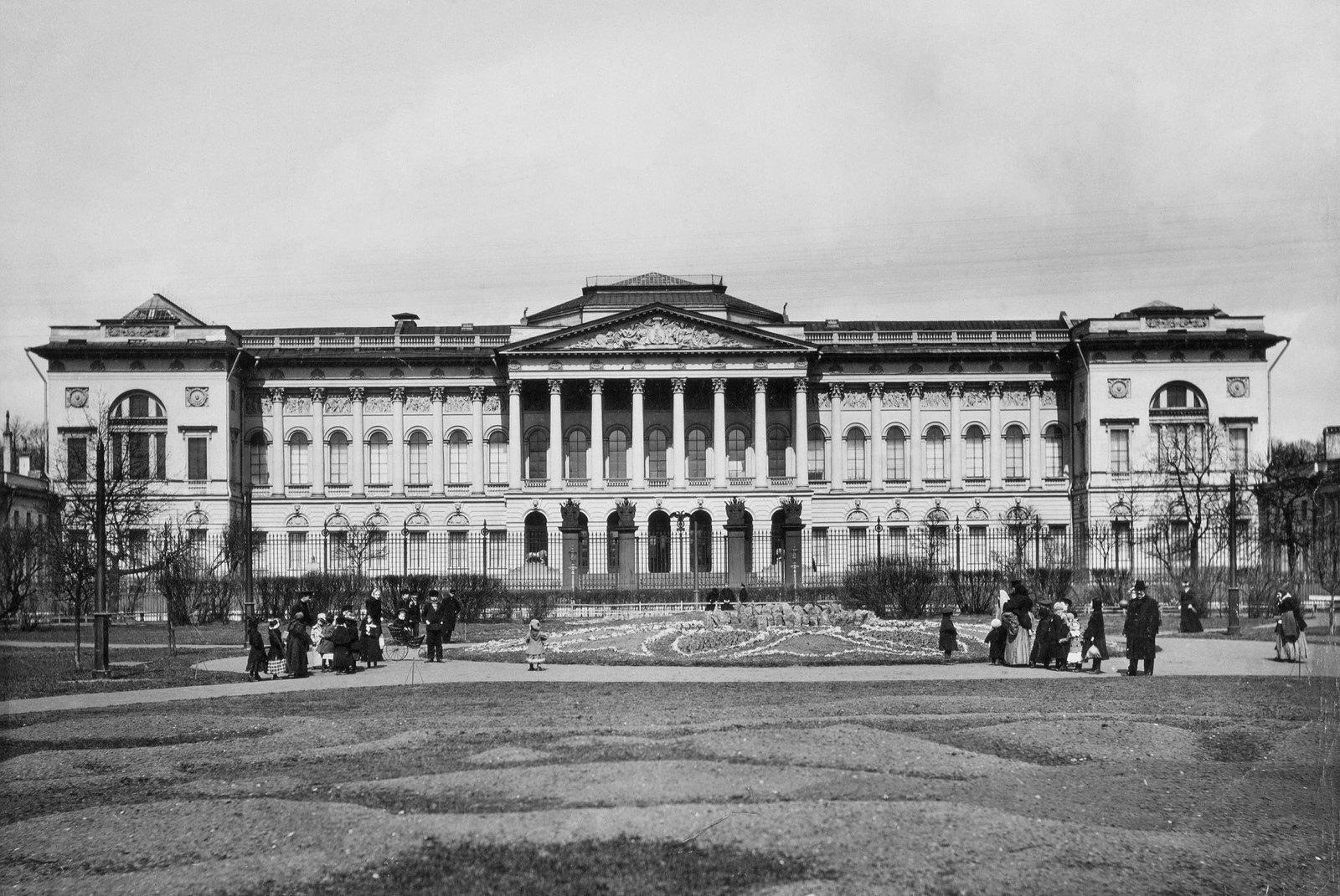 1890-е. Михайловский дворец