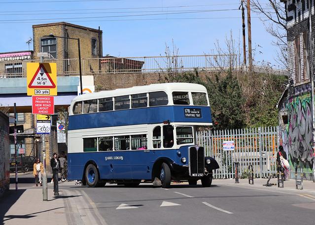 MXX232 ex-London Transport RLH32 Hackney Wick