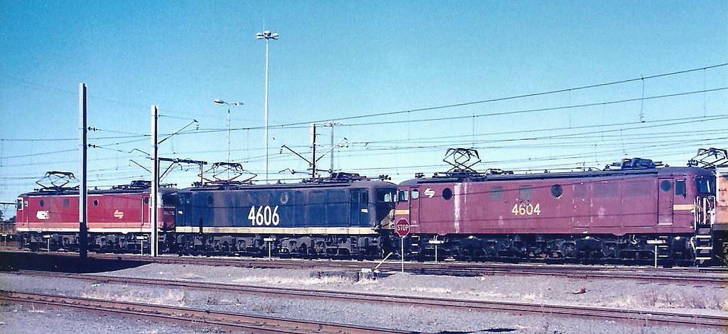 BROADMEADOW YARD MARCH 1996.