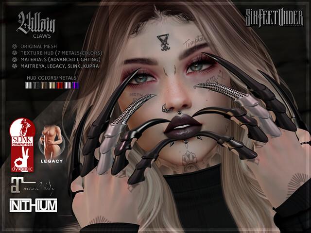 Six Feet Under – Villain Claws