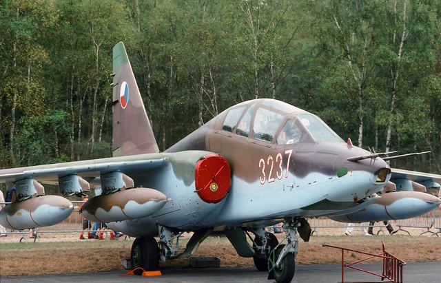 Su-25UBK Czechoslovakia