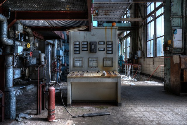 Lost power station