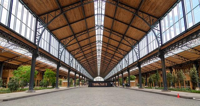Gare Maritime, Brussels, BELGIUM