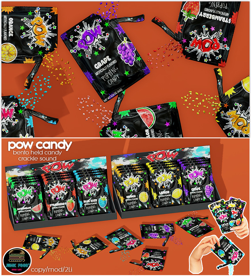 Junk Food – Pow Candy Ad
