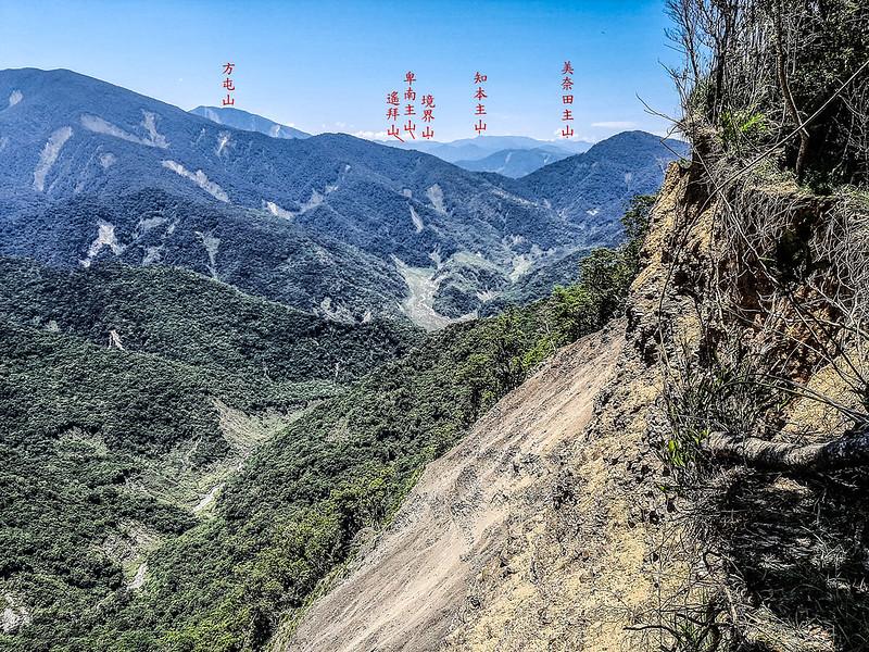 六禮山稜線西北展望 4-1