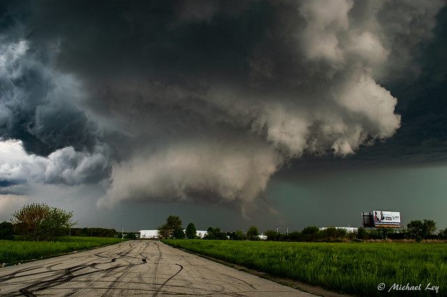 Supercell Wall Cloud