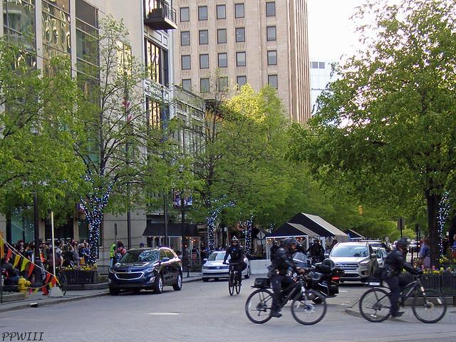 GRPD BIke Patrol @ Defund/JFBL Protest