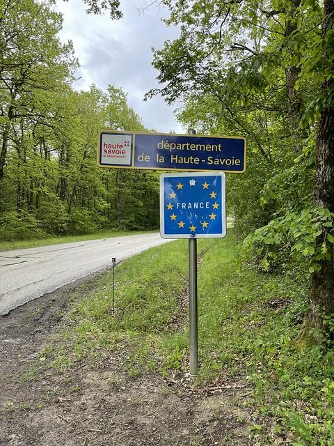 An der Grenze zu Frankreich