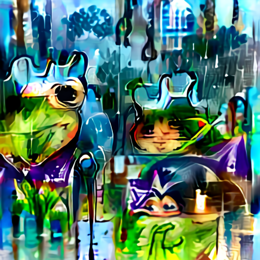 Aleph2Image Delta - Frogs In The Rain