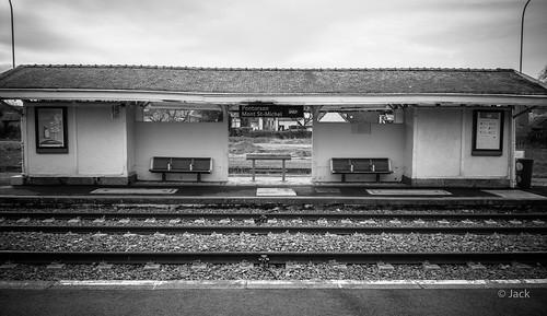 à la gare de Pontorson