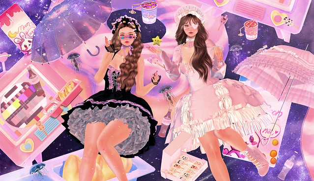 Space Twins ♥ Look 185 Danniexblood