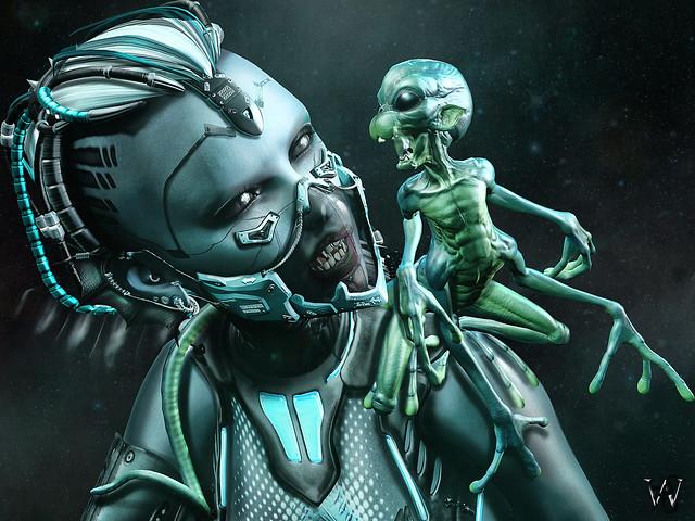 """""""Sometimes I'm feeling like an Alien…"""""""