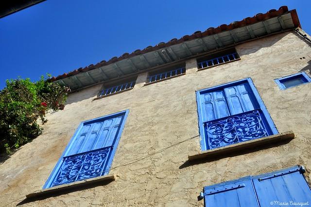 Le bleu est partout à Collioure