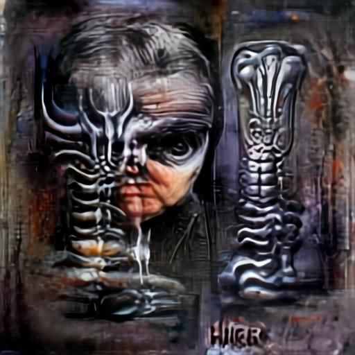 Aleph2Image Gamma - H R Giger