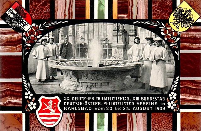 Karlsbad, XXI deutscher Philatelistentag ...