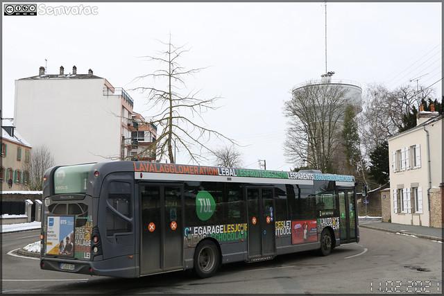 Heuliez Bus GX 337 – Keolis Laval / TUL (Transports Urbains Lavallois) n°138