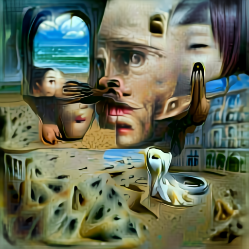 Aleph2Image Delta v2 - Surrealism