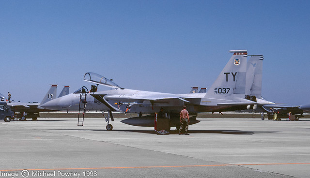 76-0037 - 1976 fiscal McDonnell Douglas F-15A Eagle, airframe now displayed at the Veterans Memorial at Holloman AFB, NM