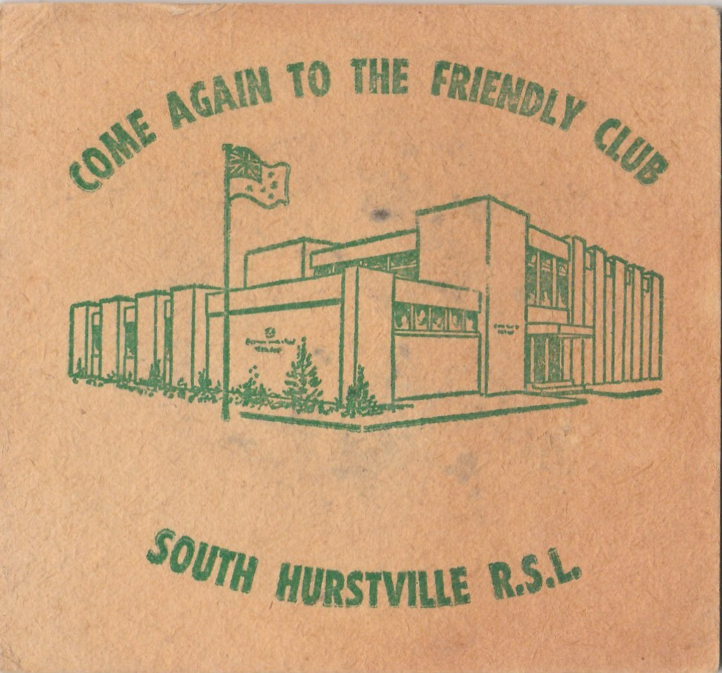 South Hurstville R.S.L. Club, New South Wales, Australia. F.