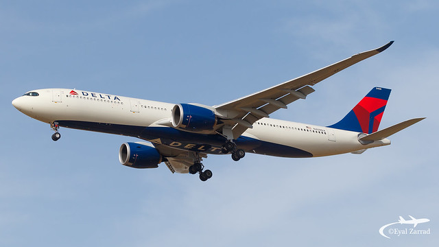 TLV - Delta Airlines Airbus A330-900Neo N408DX