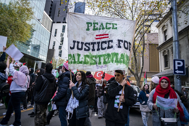 Free Palestine - Melbourne Rally May 15, 2021