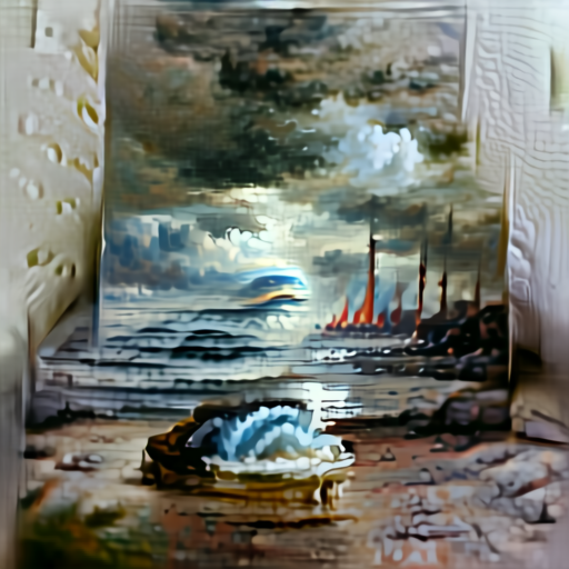 'seascape painting' Aleph2Image v2 Delta Text-to-Image