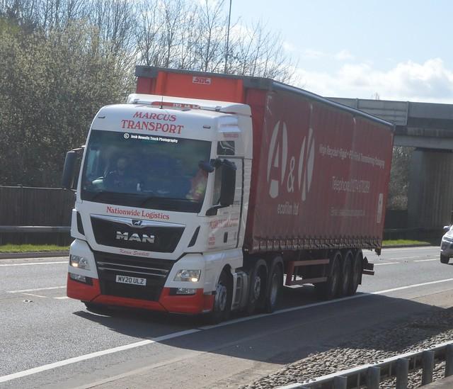 Marcus Transport MV20 ULZ At Welshpool