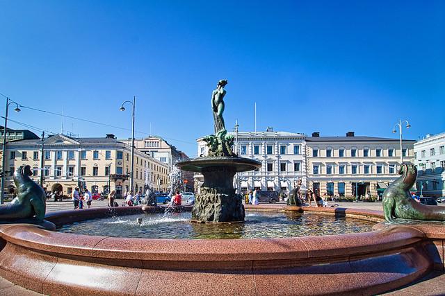 Finnland - Helsinki, Havis Amanda Brunnen