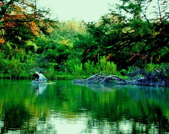 Pezcando en el Río Coyote 2
