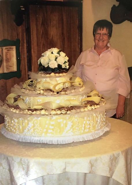 Erinnerung an eine #Hochzeitstorte# in Italien.