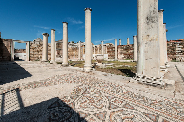 26- Sardis. The Monumental Synagogue - The Forecourt