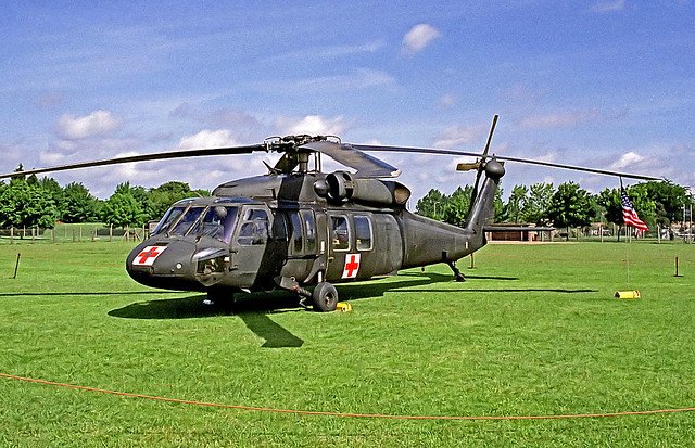 78-23000   Sikorsky UH-60A Blackhawk [70066] (United States Army) RAF Mildenhall~G 29/05/1993