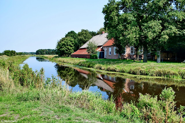 Sauteler Kanal bei Mittegroßefehn - Langerack / Ostfriesland