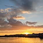 Setting Sun at the Marina