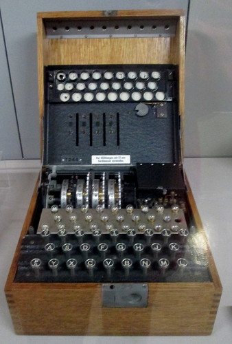 3 Rotor Enigma Machine, Bletchley Park