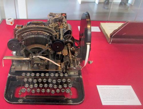 Lorenz T 32 Encryption Machine, Bletchley Park
