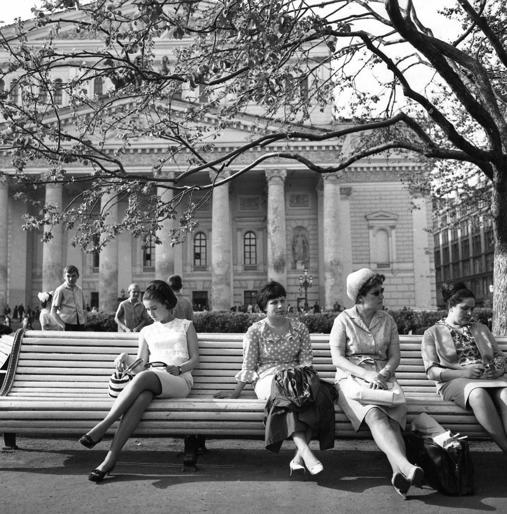 1967. Сквер у Большого Театра