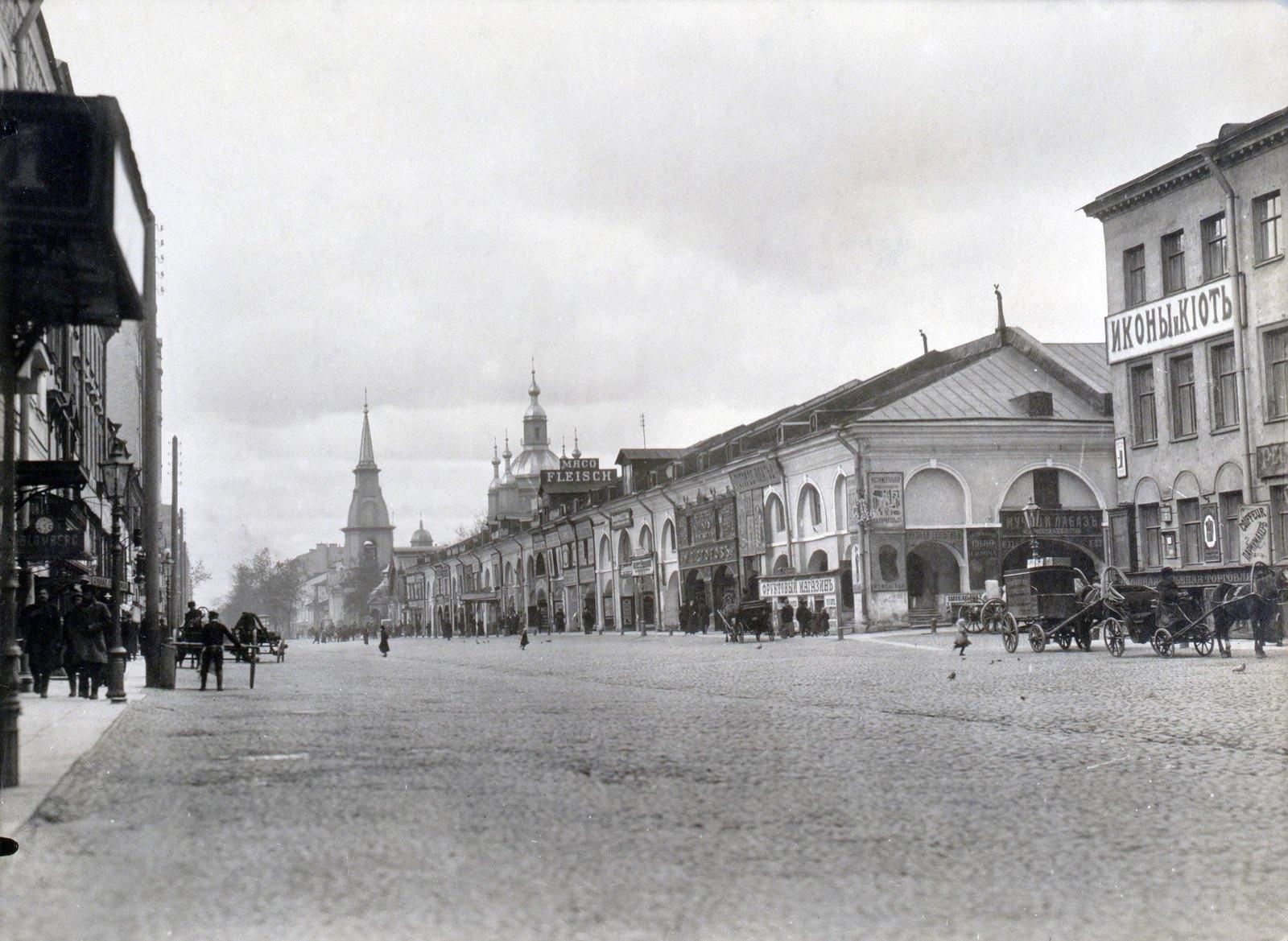 1910-е. Андреевский рынок на Васильевском острове