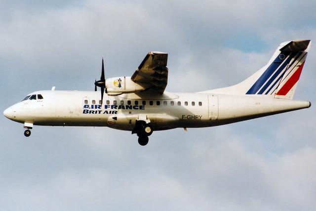 Air France (Brit Air)   ATR 42-300   F-GHPY   London Heathrow