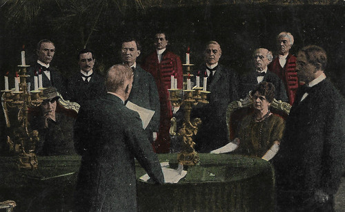 Nella Montagna and Cia Fornaroli in La Superbia (1918)