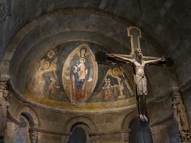 Catalonian romanesque apse
