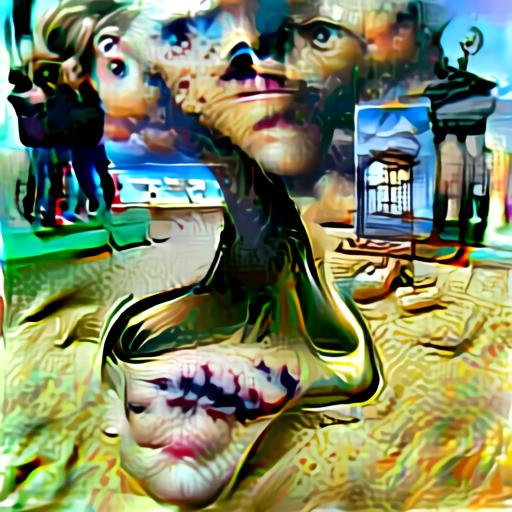 Aleph2Image Delta - Surrealism