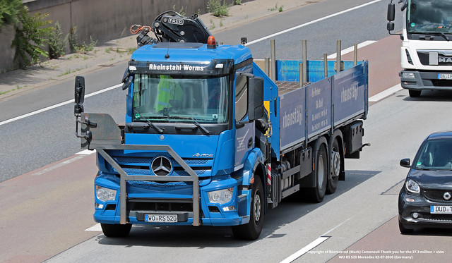 WO RS 520  Mercedes 02-07-2020 (Germany)