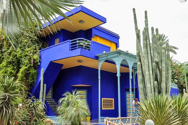 Villa et bleu Majorelle!