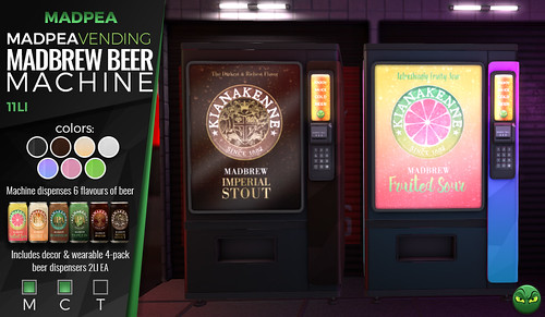 MadPea MadBrew Beer Vending Machine @ ManCave  **GIVEAWAY**