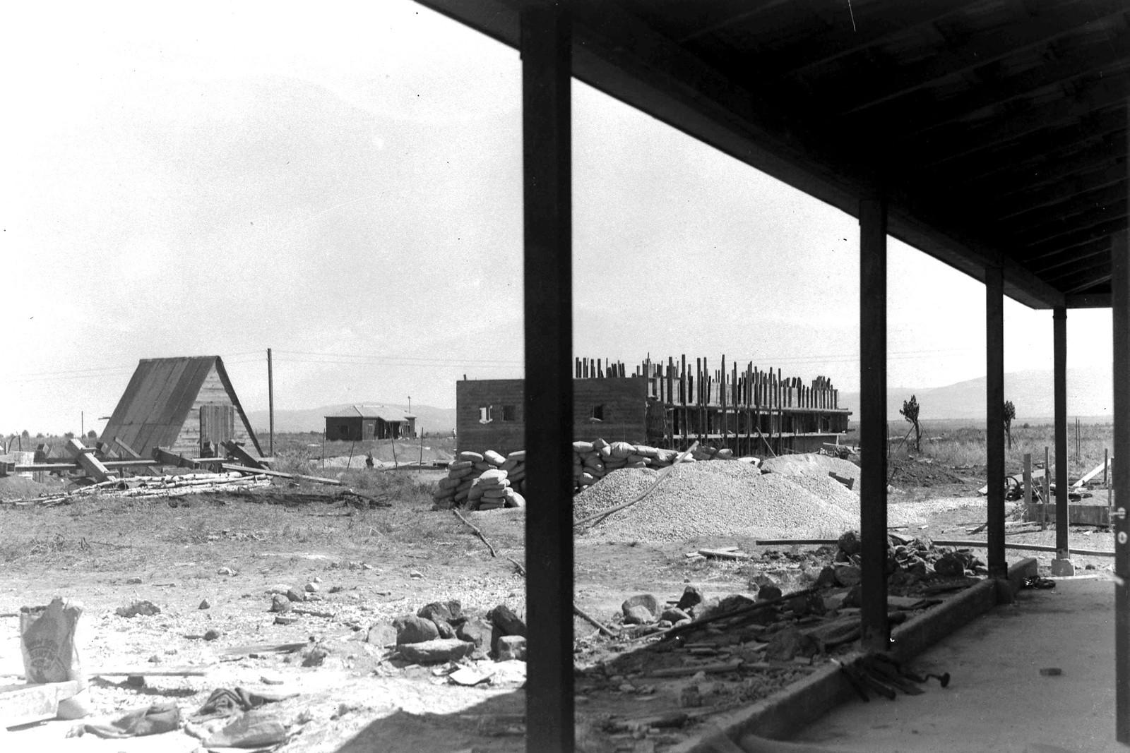 1939. Первое бетонное здание в кибуце Месилот
